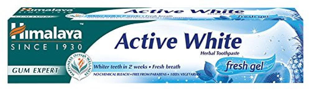 Himalaya Herbals Active Fresh Gel Herbal Toothpaste 75ml