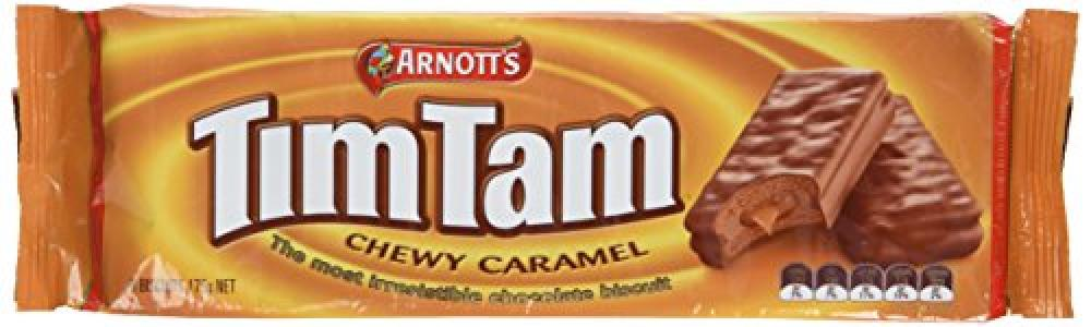 Arnotts TimTam Chewy Caramel Biscuit 175g