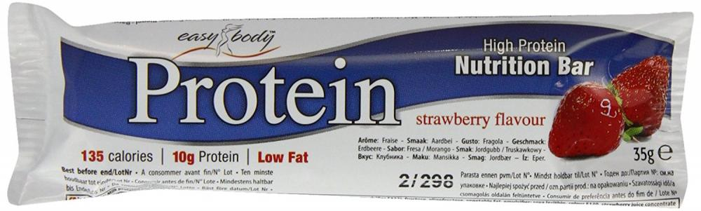 Easy Body Protein Strawberry Snack 35g