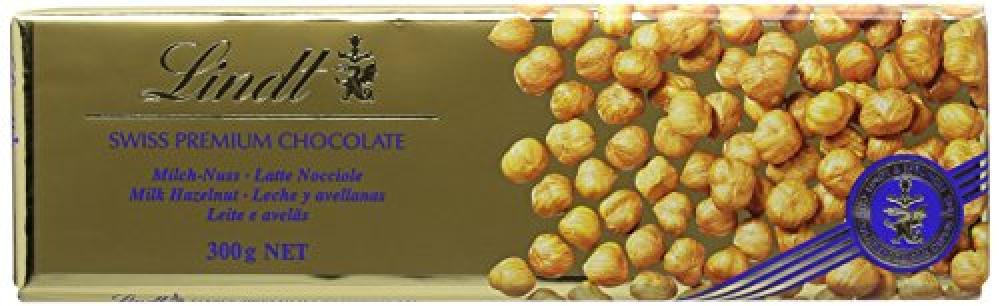 Lindt Swiss Premium Chocolate With Hazelnut 300g
