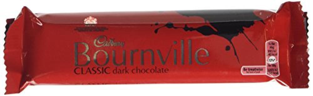 Cadbury Bournville Dark Chocolate Single Bar 45g