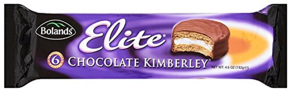 Bolands Elite Kimberley Chocolate Biscuits 132g