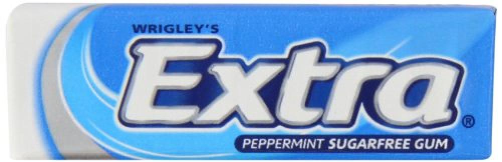 Wrigleys Extra Peppermint Sugarfree Chewing Gum