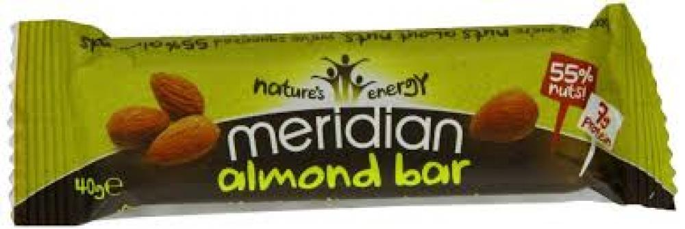 Meridian Almond Bars 40g