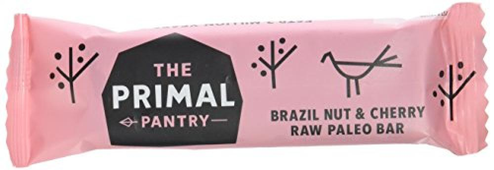 The Primal Pantry Brazil Nuts And Cherry Raw Paleo Bars 45g