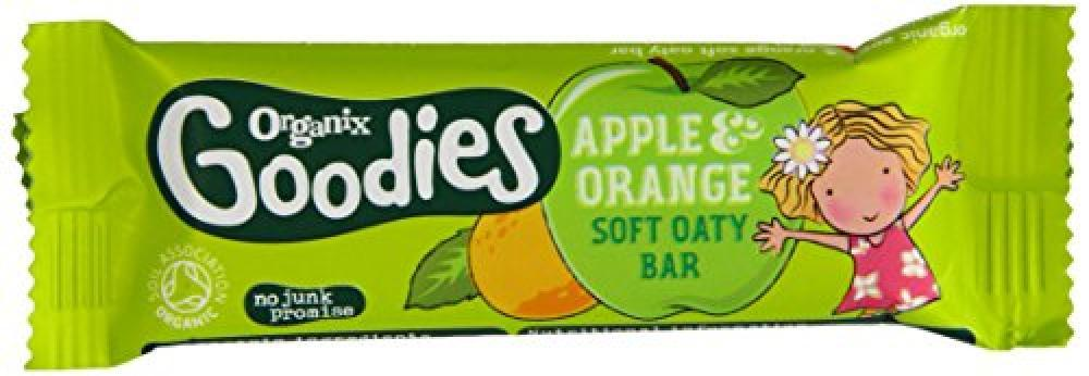 Organix Goodies Apple And Orange Soft Oaty Bar 30g