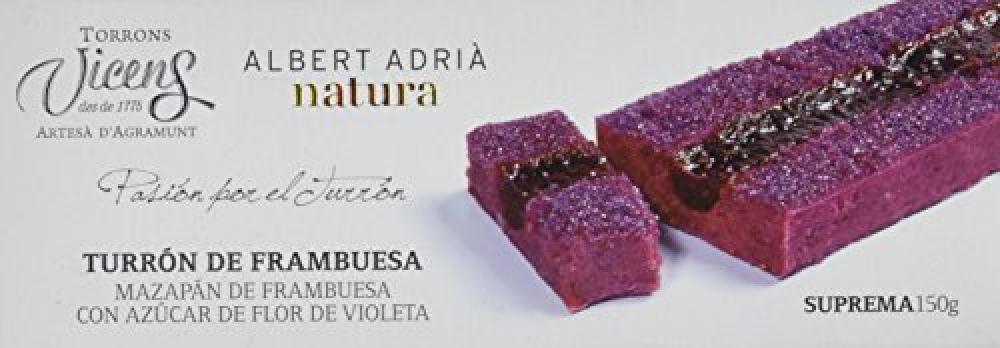 Vicens Raspberry Nougat 150g