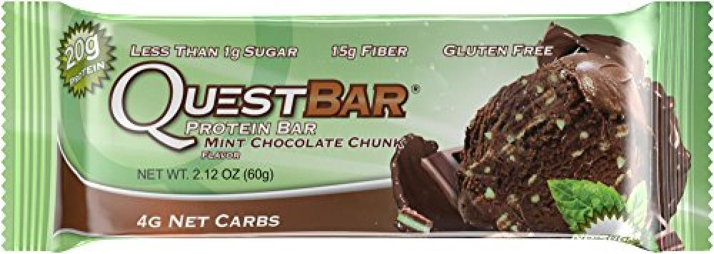 Quest Protein Bar Mint Chocolate Chunk 60g