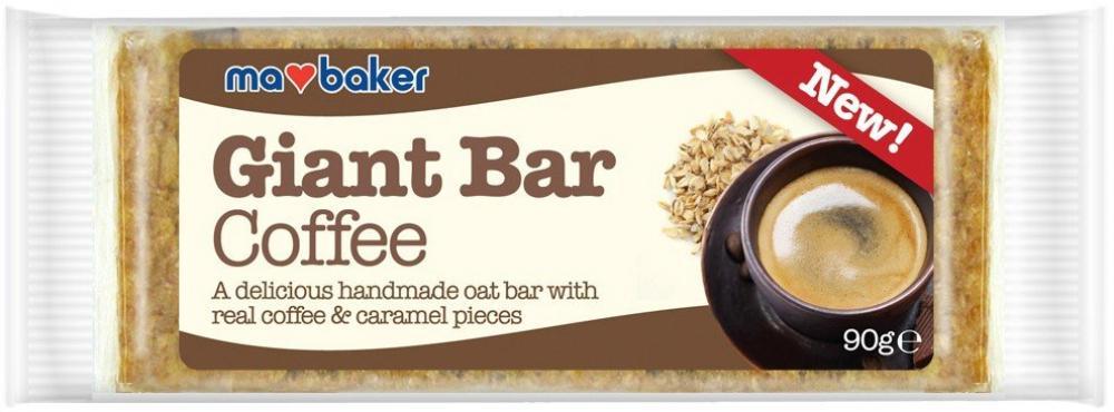 Ma Baker Giant Coffee Bar 90g
