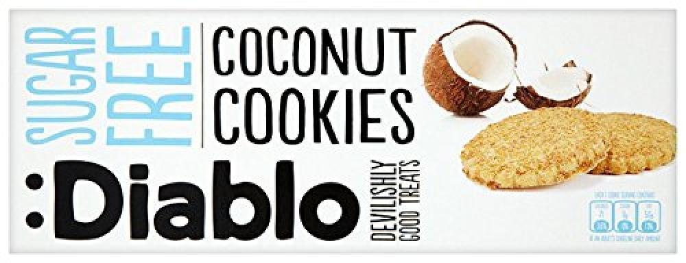 Diablo Sugar Free Coconut Cookies 150g