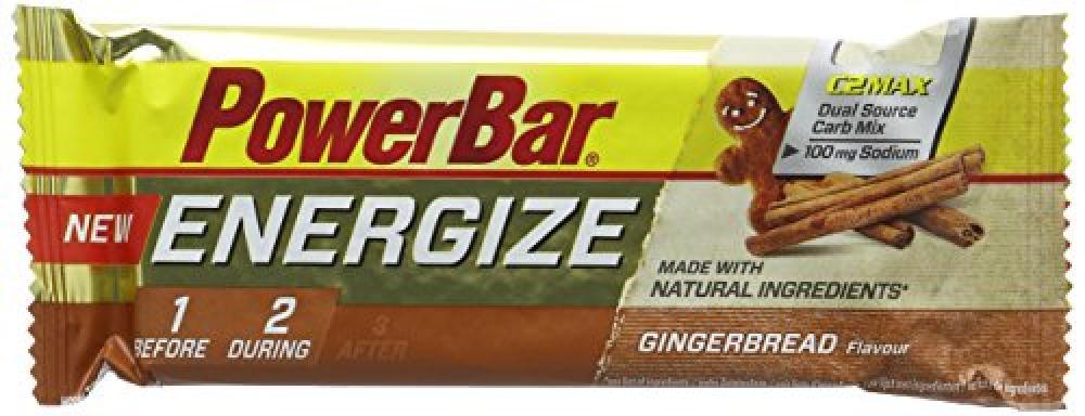 Power Bar Gingerbread Flavour Energize Bar 55g