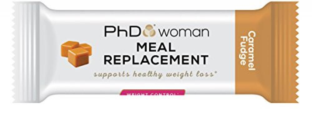 PhD Woman Meal Replacement BarCaramel Crunch 60g