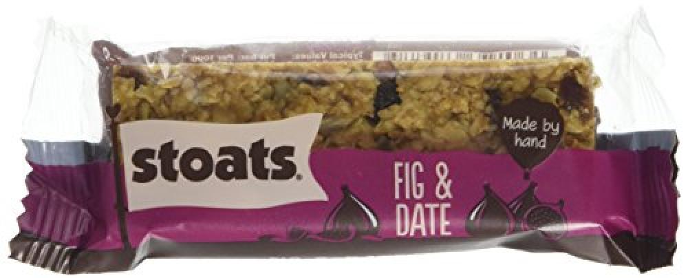 Stoats Fig and Date Porridge Oat Bar 50 g
