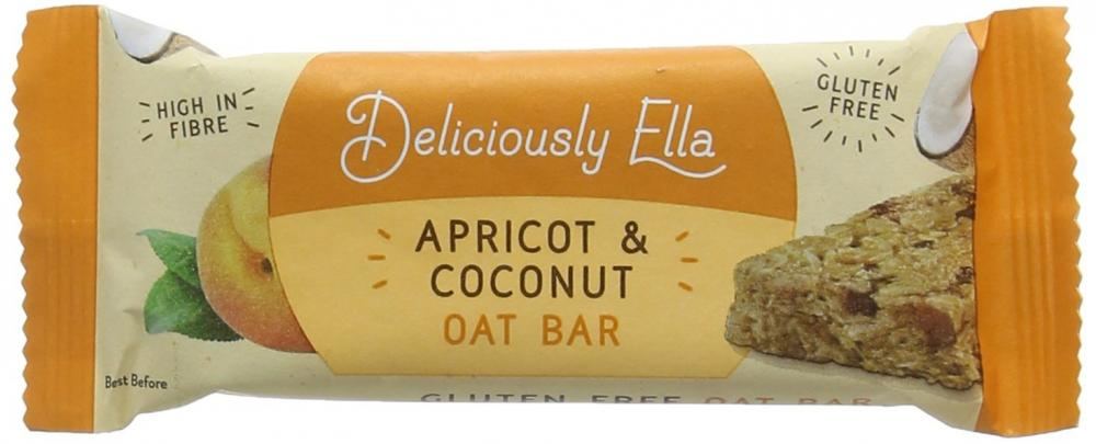 Deliciously Ella Apricot and Coconut Oat Bar 50g