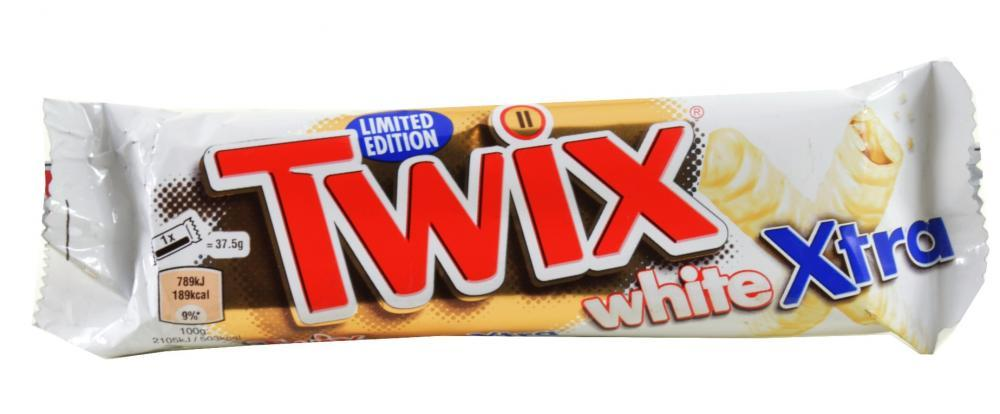 Twix White Xtra Limited Edition 75g