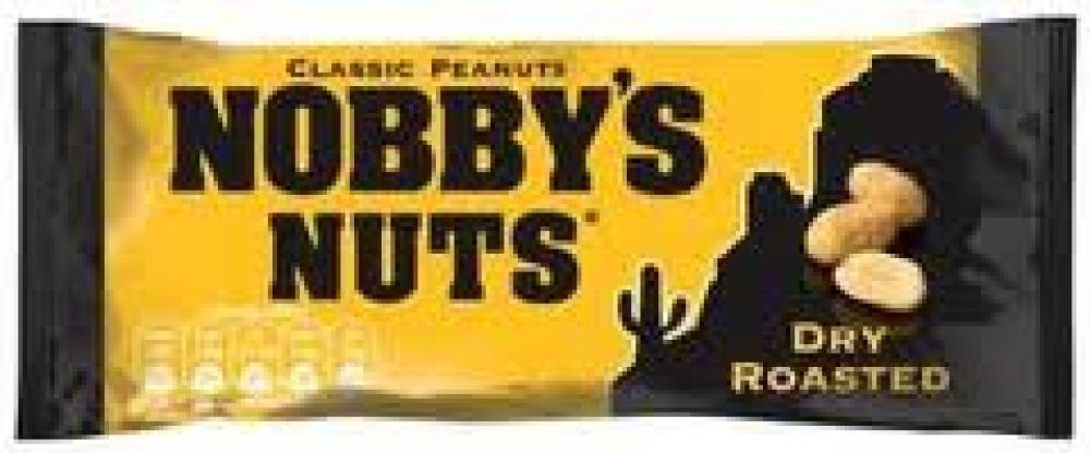 Nobbys Nuts Dry Roasted Peanuts 50g