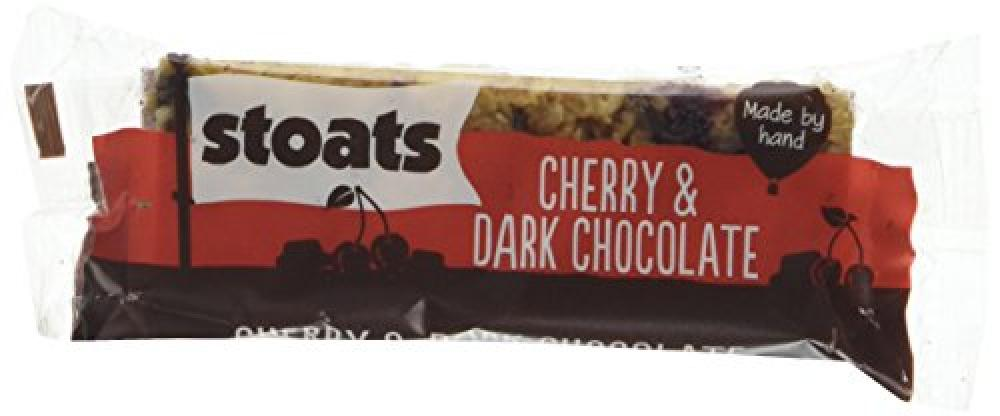 Stoats Cherry and Dark Chocolate Porridge Oat Bars 50 g