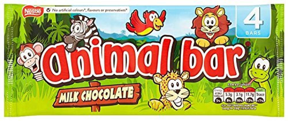 Nestle Animal Bar x 4 76g