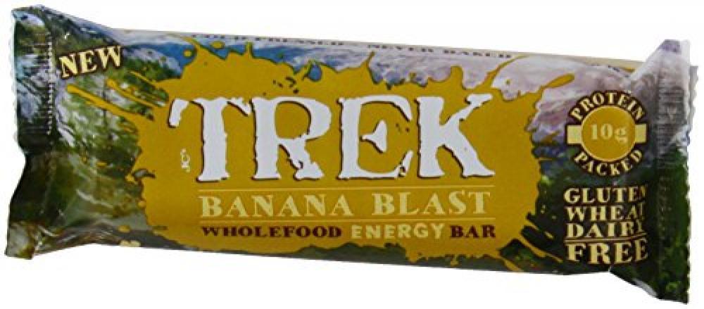 Trek Banana Blast Bar 55g