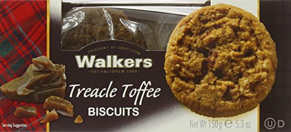 Walkers Shortbread Treacle Toffee Biscuits 150g