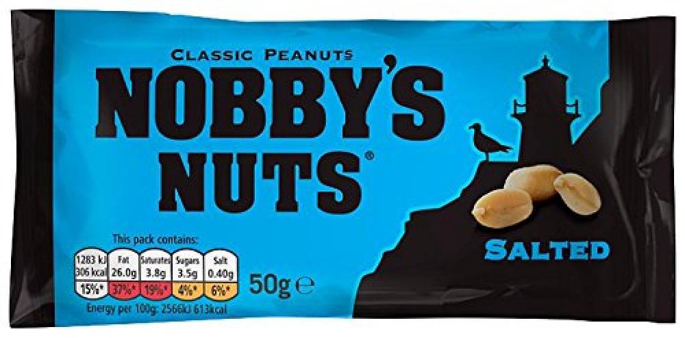 Nobbys Nuts Salted Peanut 50 g