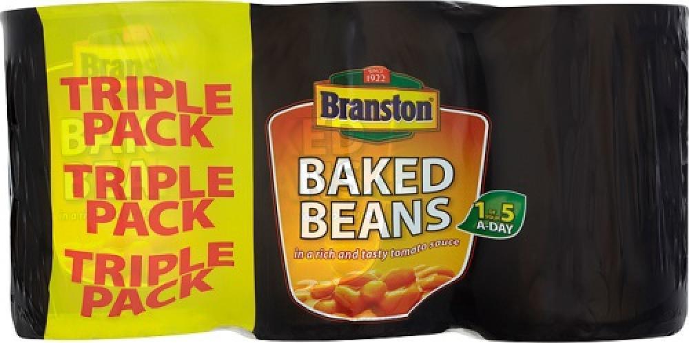 Branston Baked Beans 410g x 3