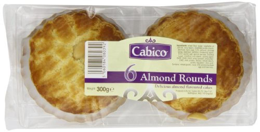 Cabico Almond Rounds 300g