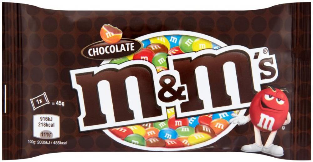 M and Ms Chocolate Bag 45g
