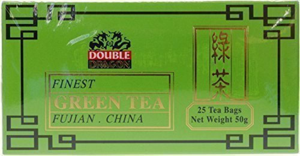 Double Dragon Organic Green Tea 25 bags 50g