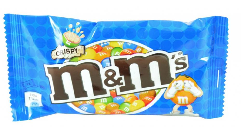 M and Ms Crispy 36g