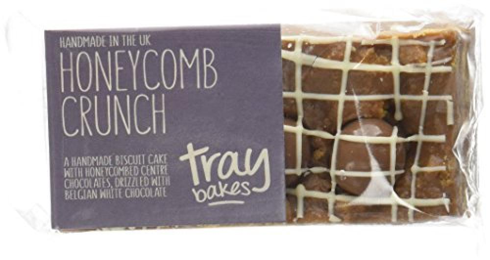 Traybakes Honeycomb Crunch Biscuit Cakes