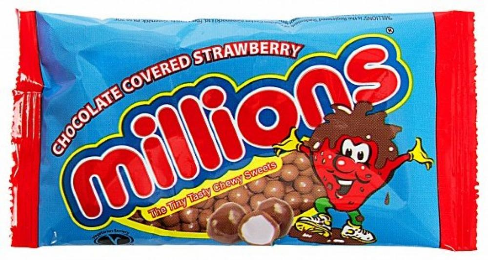 Millions Chocolate Covered Strawberry 35g