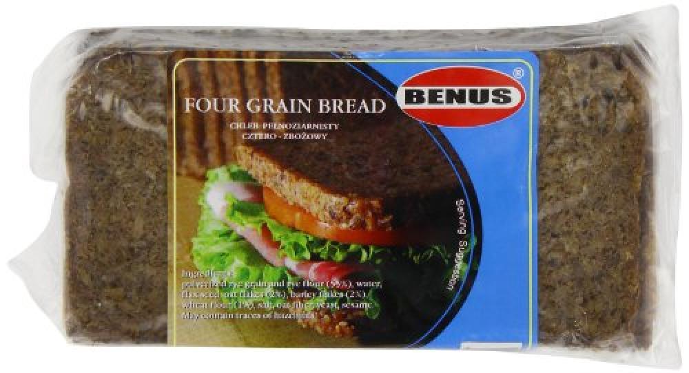 Benus Grain Bread with 4 Grains 500 g