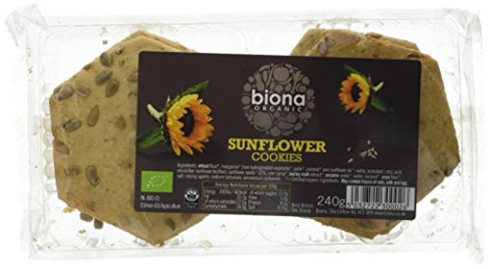 Biona Organic Sunflower Cookies 240 g