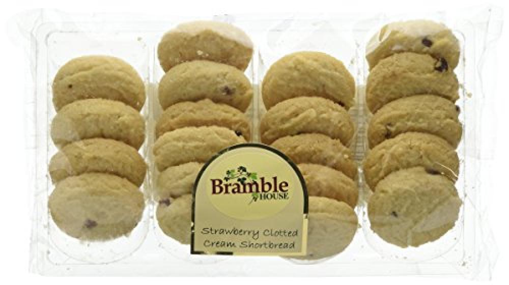 Bramble Foods Bakery Strawberry Clotted Cream Shortbread 250 g