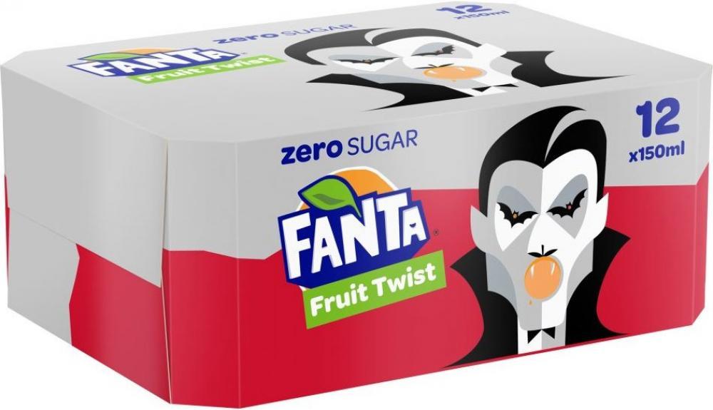 CASE PRICE  Fanta Fruit Twist Zero 150ml x 12