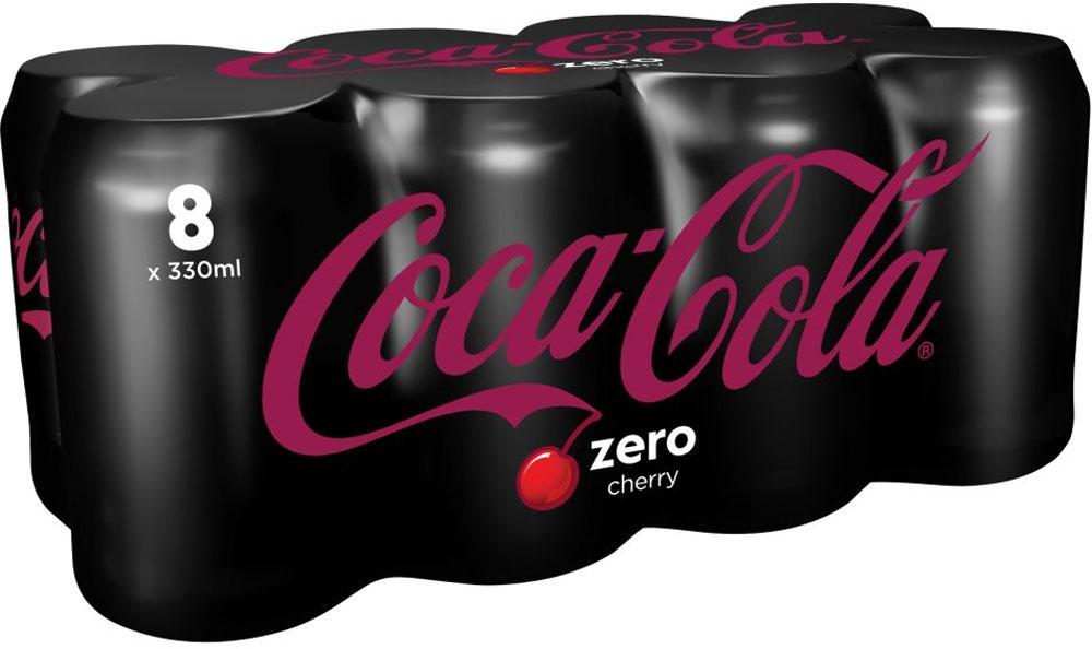 Coca Cola Zero Cherry 330ml x 8