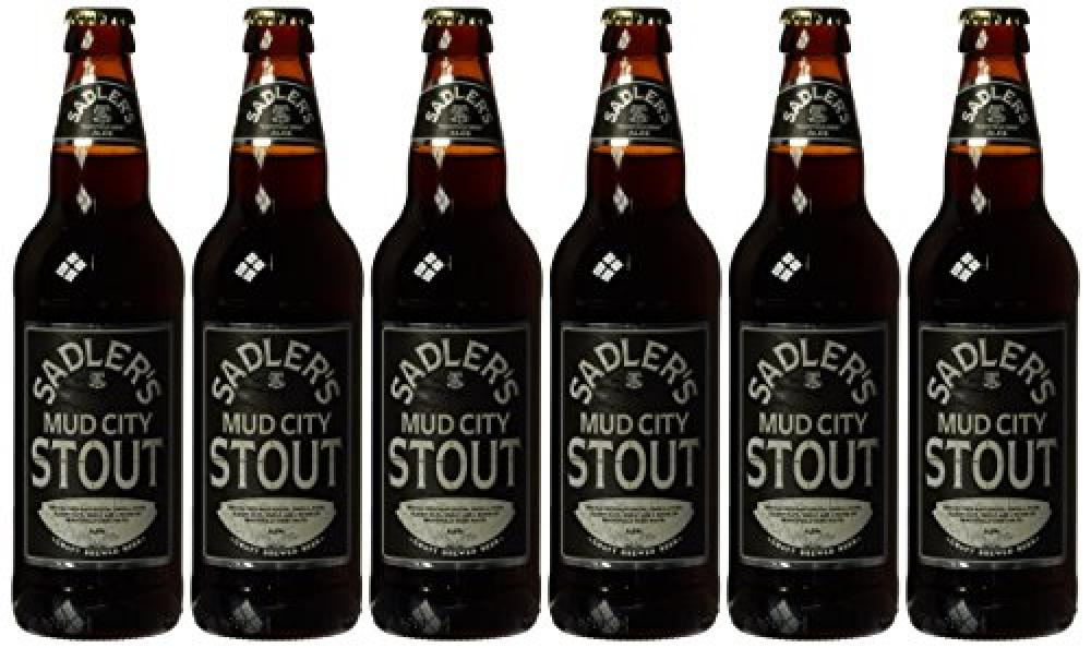 Sadlers Mud City Stout Beer 500ml