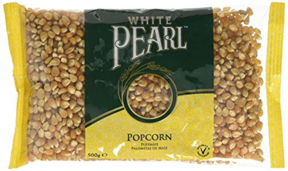 White Pearl Popcorn 500g
