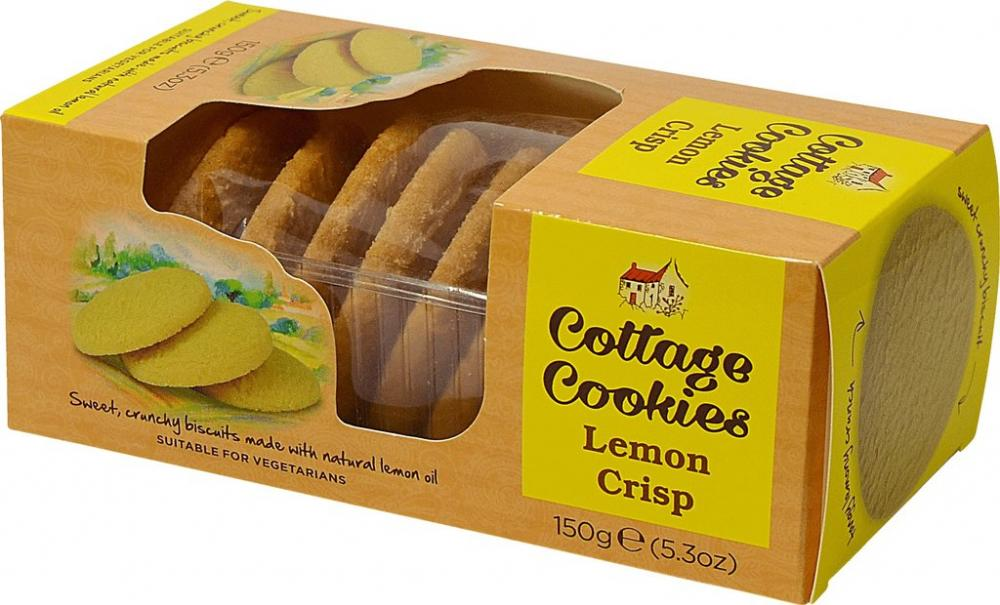 Cottage Cookies Lemon Crisp 150g