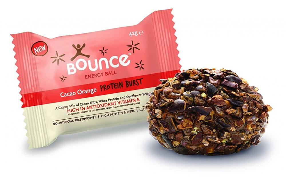 Bounce Cacao Orange Protein Burst Energy Ball 42g