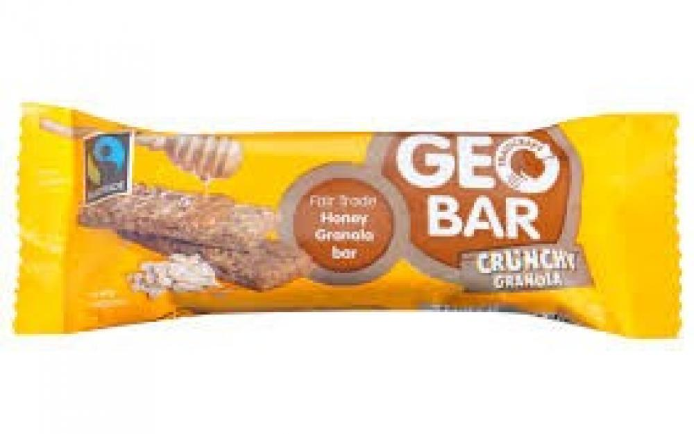 Traidcraft Crunchy Granola Geobar 42g