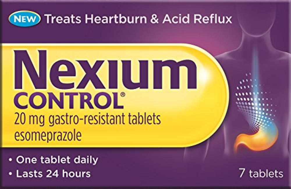 NEXIUM 20mg Control Tablets 7 Pack