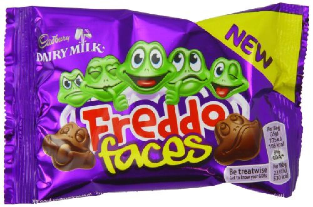 Cadbury Dairy Milk Freddo Faces 36g