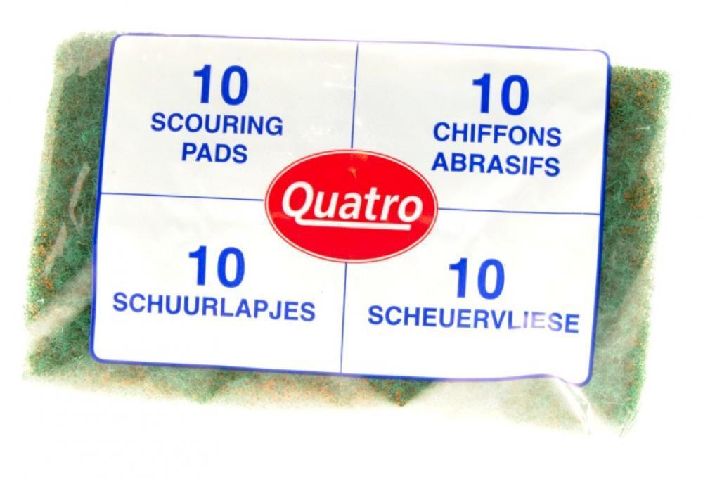 Quatro 10 Scouring Pads