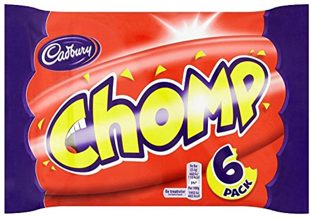 Cadbury Dairy Milk Chocolate Chomp Multipack 6 x 23.5g