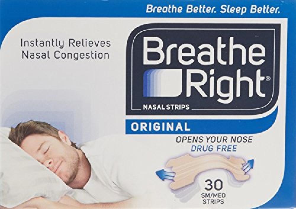 BreatheRight Nasal Srips Large - Natural (30 Pack)