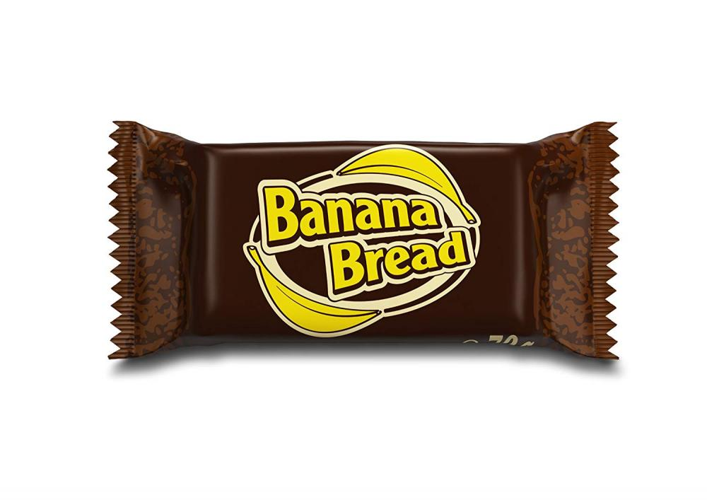 Oat Snack Banana Bread 70g