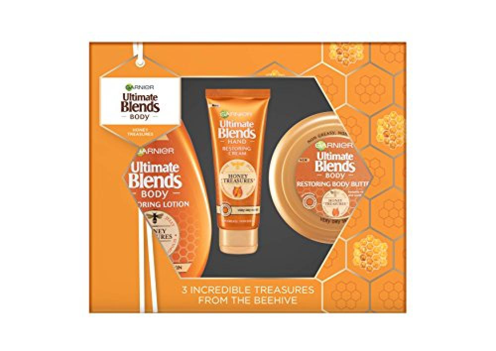 Garnier Ultimate Blends Honey Treasures Gift Set