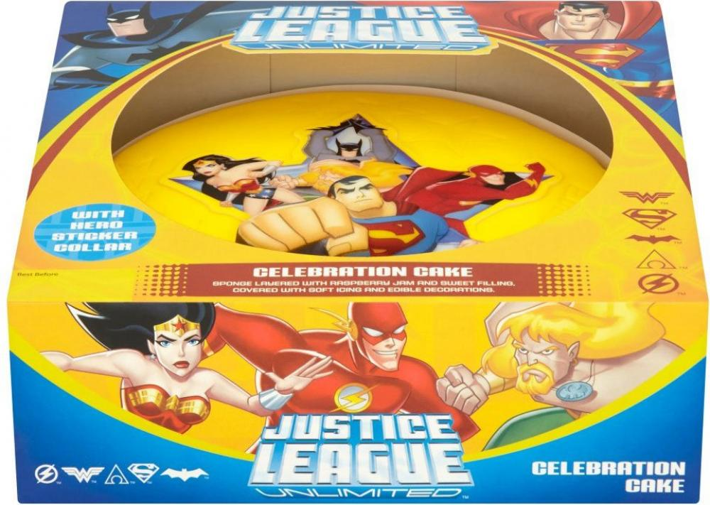 Finsbury Food Justice League Unlimited Gift Cake Large